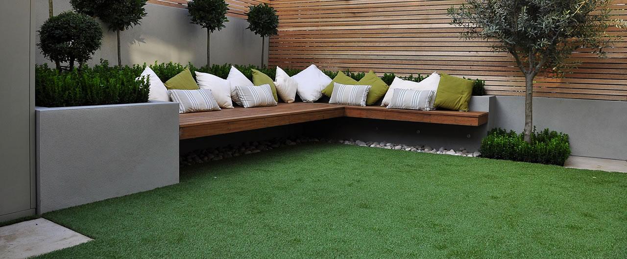 Lifegreen pasto sint tico c sped artificial muros for Muro de separacion terraza